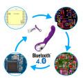 Одна остановка ble смарт беспроводной смарт секс игрушки ODM и OEM, смартфон приложение управляется женщин секс игрушки Bluetooth модуль доски PCB дизайн