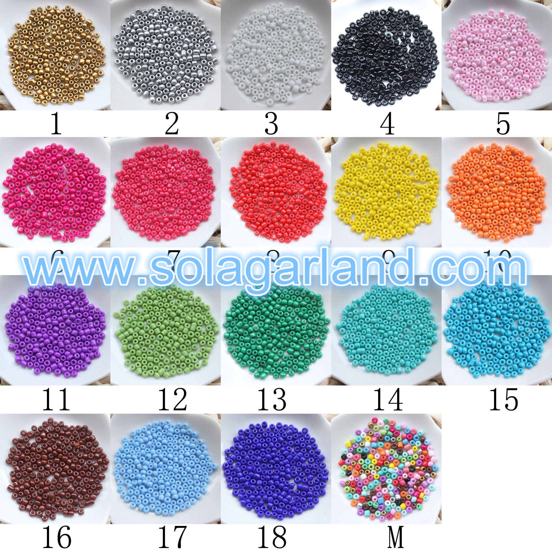 8/0 Seed Beads For Jewelry Making