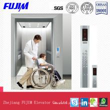 3.0m / S elevador elevador residencial elevador com linha fina aço inoxidável