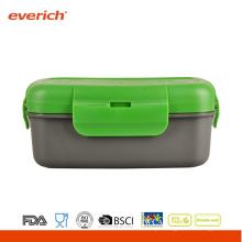Atacado BPA Free Plastic Food Container Round Bento Box