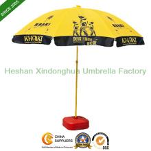 2.2m logotipo personalizado impreso playa sombrillas sol Parasol (BU-0048)