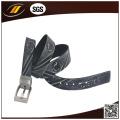 Office Emboss Real Leather Belt for Men