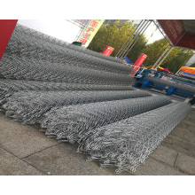 Galvanized Chainlink Mesh Fence