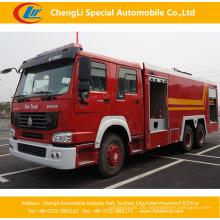 HOWO 6X4 16-20cbm Wassertank Feuerwehrauto