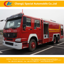HOWO 6X4 16-20cbm Water Tank Fire Fighting Truck