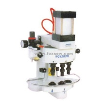 Pneumatic Button Attaching Machine
