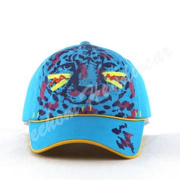 Tiger Print Comed Cotton Детские шапочки для детей