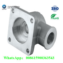 Kundengebundener Aluminiumsand-Casting-Rohr-Verbindungsstück-Stoßverbindung