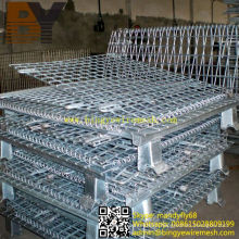Foldable Stackable Warehouse Storage Cage