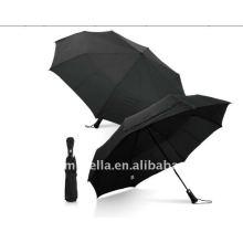 Mini auto relativo à promoção de 27 polegadas abre e fecha o guarda-chuva de 3 dobras