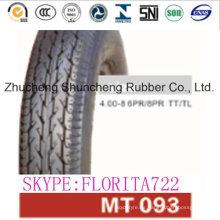 Neumáticos de moto de goma de 100cc (4.00-8)