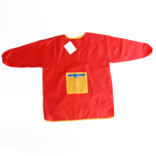 avental da arte do protetor da roupa das meninas avental personalizado avental das crianças da blusa