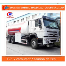 25cbm LPG Dispenser Road Truck 12ton LPG Bobtail Truck for Sale