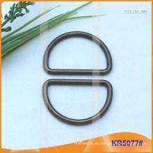 Tamaño interior 34mm Metal Hebillas, Regulador de metal, Metal D-Ring KR5077