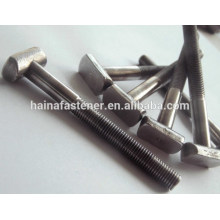 T bolt, T handle bolt,steel T-shaped bolt,T head bolt
