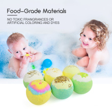 12PCS Handmade Dry Skin Moisturize Bubble SPA Natural Organic Bath Bomb for Lady Girlfriend Mother Gift Set Color Fizzies