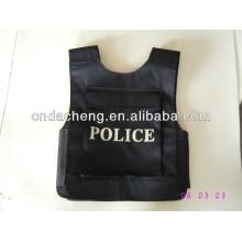 Black Bullet Proof Jacket for Bank