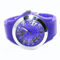 Water Resistent Girls Silicone Wristband Watches
