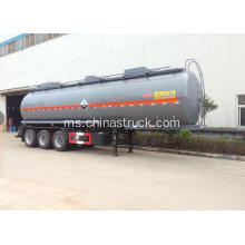 3 axle 42cbm semi-trailer tangki metanol