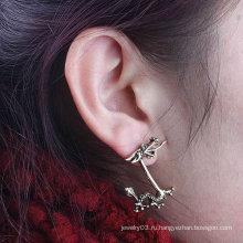 Оптовая Дракон Ухо Клип Серьги ювелирные изделия Индивидуальные Vintage уха манжеты EC96
