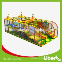Vente de matériel d'aire de jeux d'intérieur à usage domestique avec bar personnalisé pour les parents