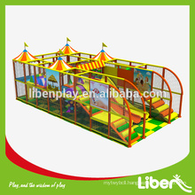 Children Commercial Used Indoor Playground Equipment Sale with Customized Bar for Parents