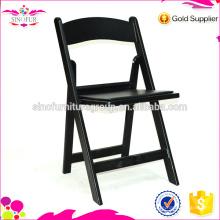 Fabricação de cadeiras dobráveis de plástico ao ar livre a baixo preço