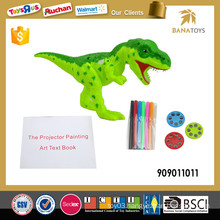 2in1 Intelligent child's play dinosaur toy projector