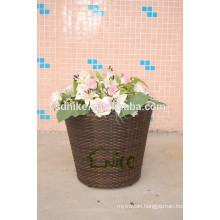 large garden wicker outdoor vase
