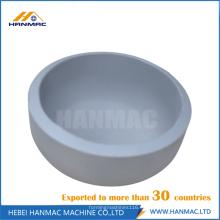 Tapas de tubo de aluminio de acero de 8 pulgadas