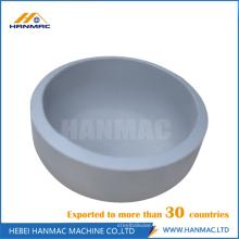 Tampas de tubo de alumínio de aço de 8 polegadas