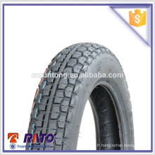 3.00-12 Boîtier de pneu de moto d'importation de haute qualité en provenance de Chine