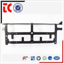 Moulage de précision en aluminium OEM en Chine Black e-coating communique le cadre de supoort pour la partie de télécommunication