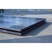 ASME A265 plattierte Stahlplatte, Nickel-legierter Stahl Clad Plate + SA516 Gr70 Explosion plattierender Platte, Explosions-Schweißens-Platte
