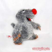 Серые плюшевые игрушки Lovly Mole