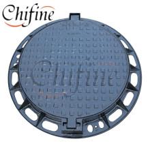 En124 D400 OEM Casting Ductile Iron Manhole Cover