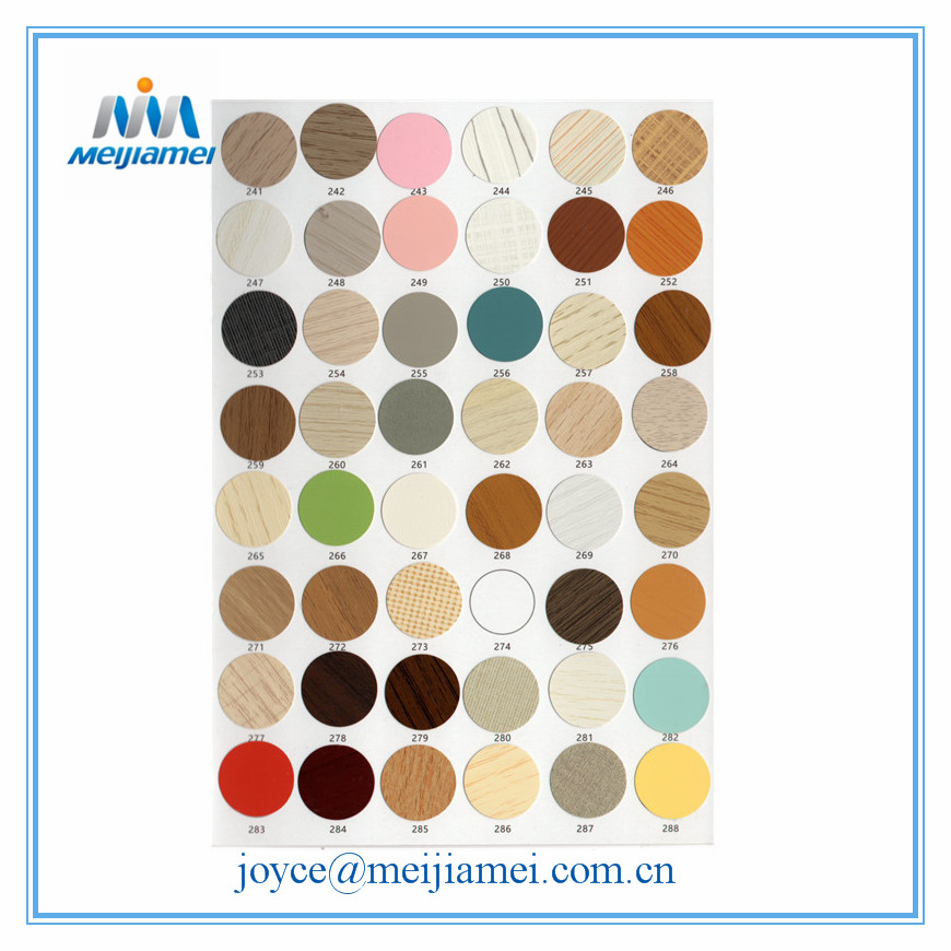 PVC furniture screw cap sticker