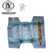 Superficie seca transpirable Desechable con Super Absorción bebé pañal