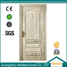 Portes ignifuges / sapin intérieures en bois pour le projet de villa