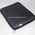 Black neoprene Business style ipad sleeves custom