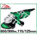 650/900 Вт 115/125мм электрическая углошлифовальная (PT81001)
