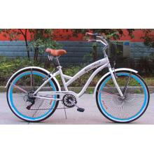 2015 New 7speed 120h Alloy Rim Beach Cruiser Bike (FP-BCB-C034)
