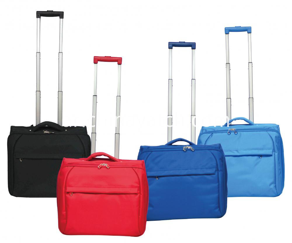 Laptop Collapsible Trolley Case