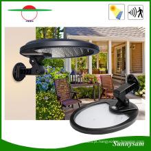 Rotatable todo em uma luz solar do jardim da parede do movimento de 56 diodos emissores de luz para a iluminação exterior interna