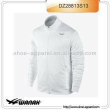Elite comfort knit tennis jacket for men made in China