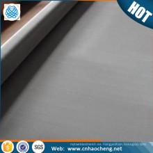 Precio de fábrica 20 40 60 malla de inconel 600 601 625 tela de malla de alambre