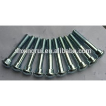 grade 8.8 zinc plated track bolt for railway