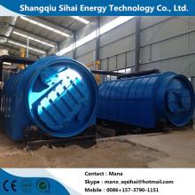 Planta de pirólise para óleo de pneu com ISO CE