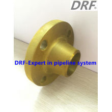 Yellow Painted Welding Neck Flange