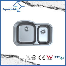 Under Counter Stainless Steel Moduled Kitchen Sink (ACS 8052M)